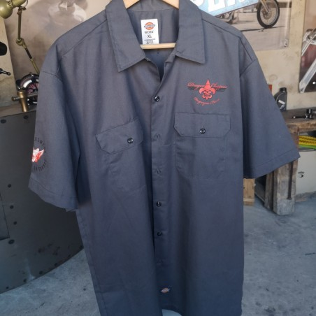 "Chemise ""Dickies"" broderie Dragon Choppers"