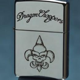 Zippo Armor Case (gravé main)