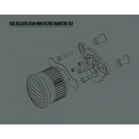 Mini filtre diamètre 107